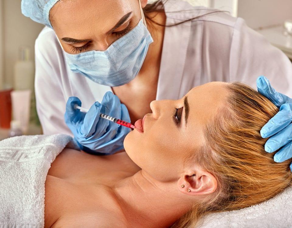 combining skincare dermal fillers