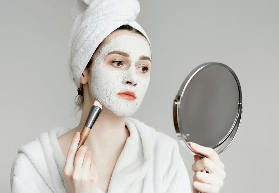 quarantine skin care themes